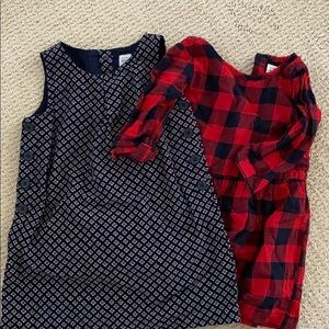 Two cute gap kids dresses EUC